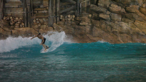 Disney's Typhoon Lagoon offers limited access to surfers