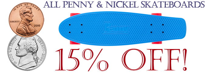 Penny Nickel Skateboards