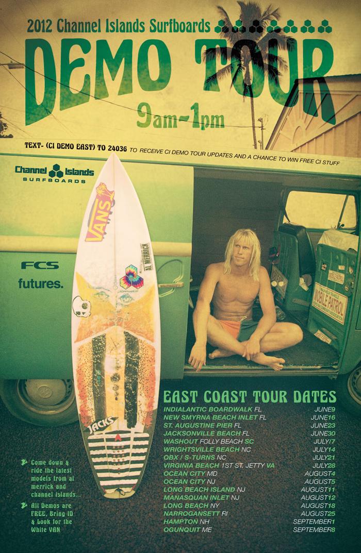 2012 Channel Islands Surfboard Demo - Surf Station Surf Report