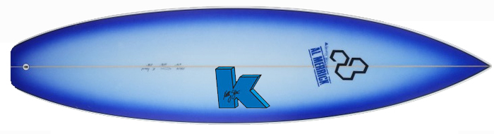 Channel Islands K Board Surfboard