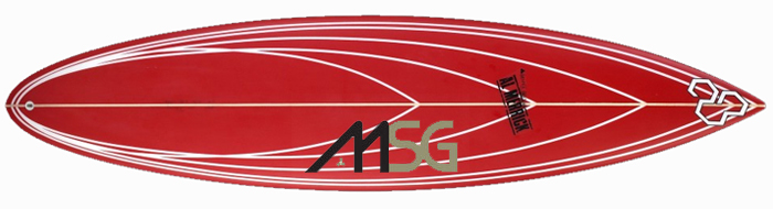Channel Islands MSG Surfboard