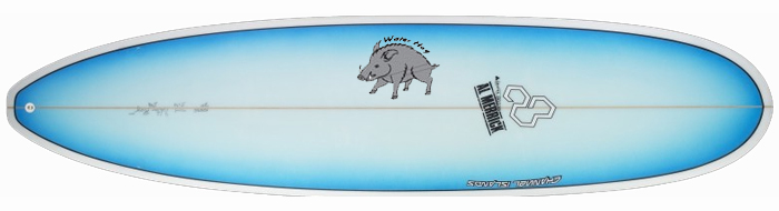 Channel Islands Waterhog Surfboard