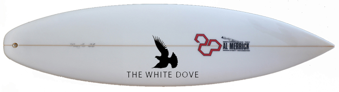 Channel Islands White Dove Surfboard