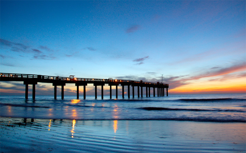 The Saint Augustine Beach Landscape Could Be In For A Dramatic Change St Johns County Pier Is Estimated To Only Have 5 10 Years Left And