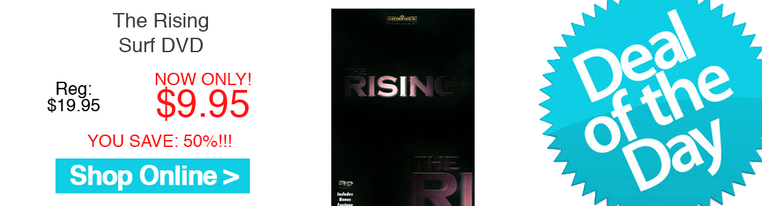 The Rising Surf DVD