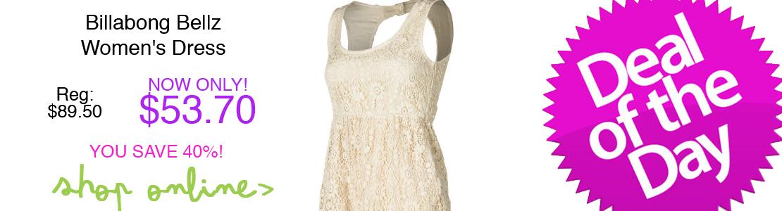Billabong Bellz Women's Dress