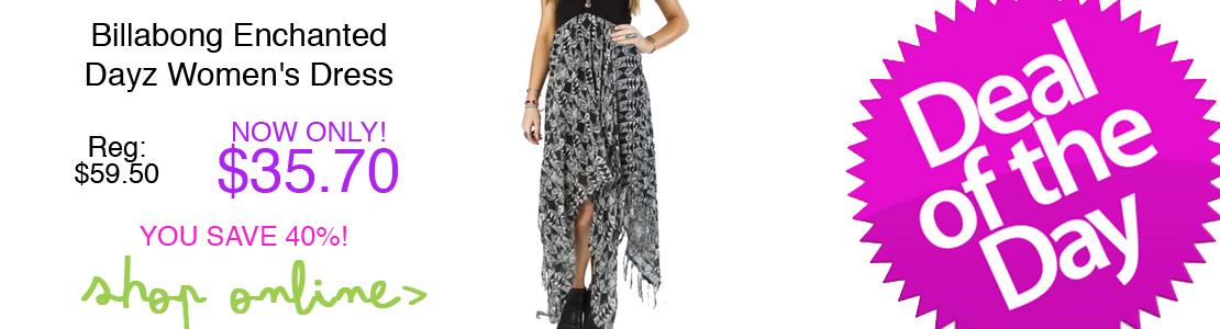 Billabong Enchanted Dayz Women's Dress