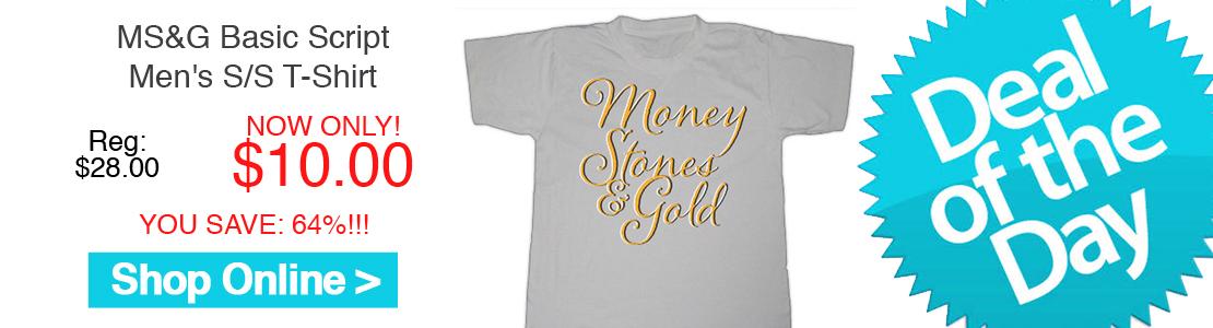 MS&G Basic Script Men's S/S T-Shirt
