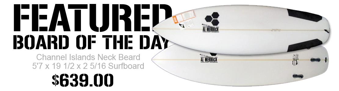 Channel Islands Neck Beard Surfboard