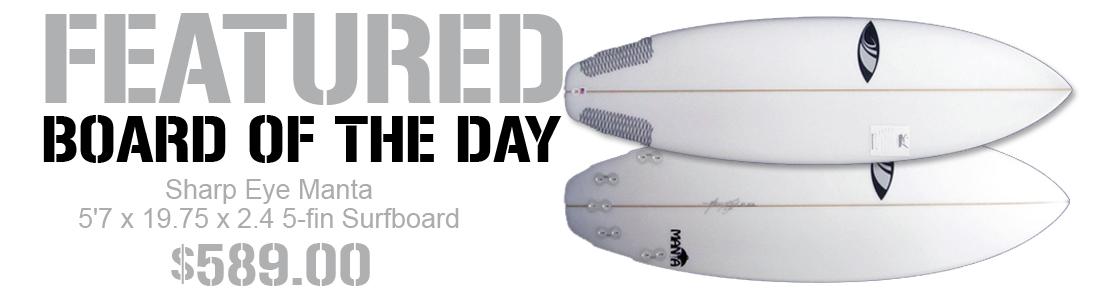Sharp Eye Manta Surfboard