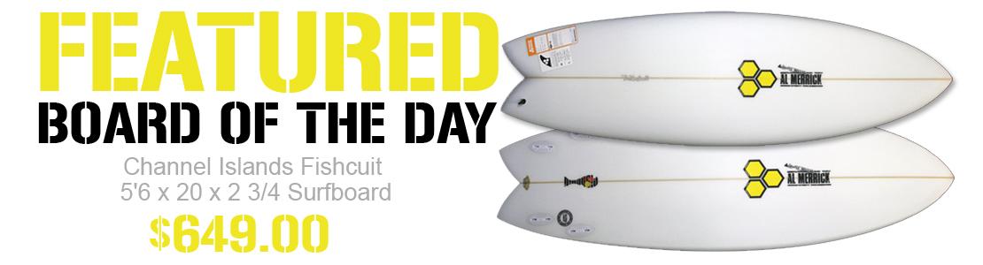 Channel Islands Fishcuit Surfboard