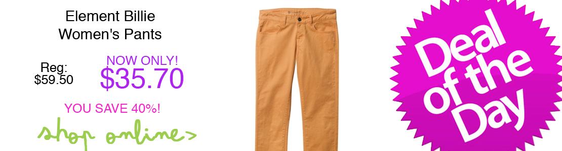Element Billie Women's Pants