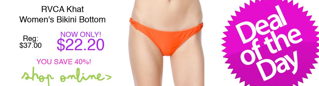 RVCA Khat Women's Bikini Bottom