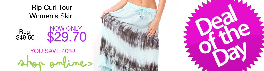 Rip Curl Tour Women's Skirt