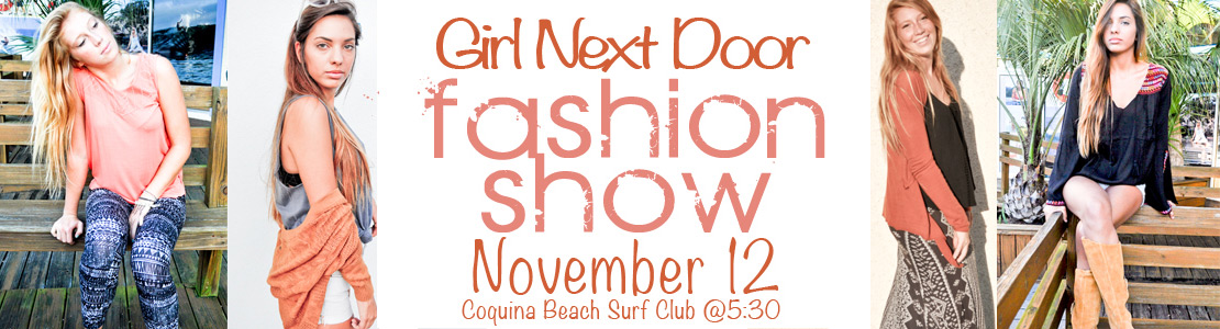 Girl Next Door Fasion Show
