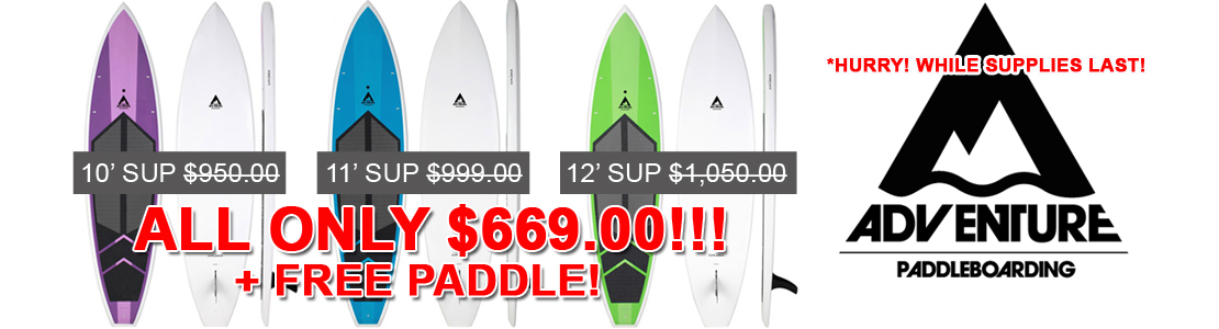 Adventure Paddleboarding Sale