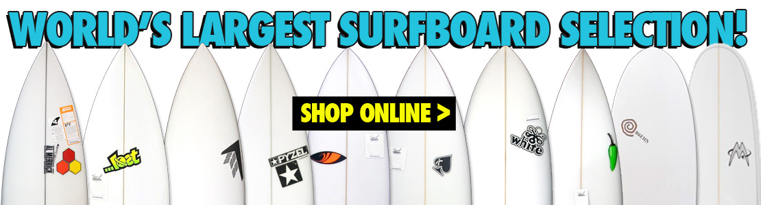 World's Largest Surfboard Selection