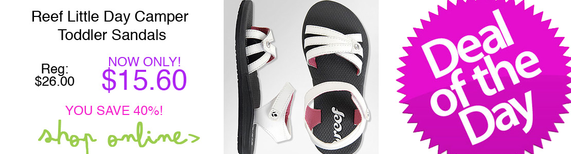 Reef Little Day Camper Toddler Sandals