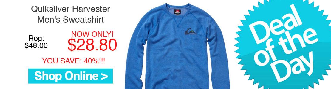 Quiksilver Harvester Men's Sweatshirt