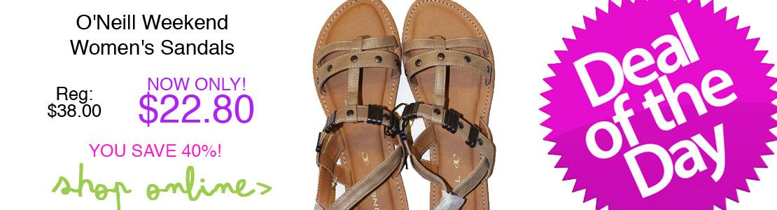 O'Neill Weekend Women's Sandals