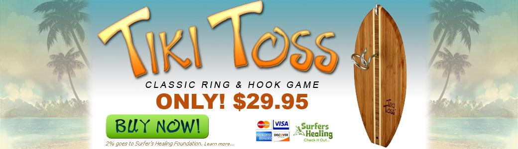 Tiki Toss Ring Game