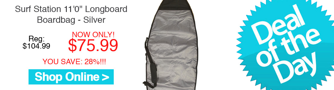 "Surf Station 11'0"" Longboard Boardbag - Silver"