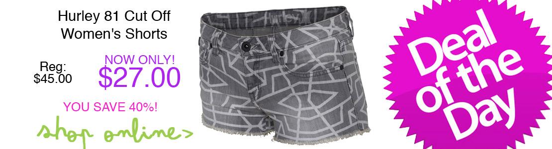 Hurley 81 Cut Off Women's Shorts