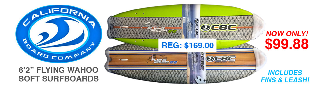 CBC Flying Wahoo Soft Surfboards