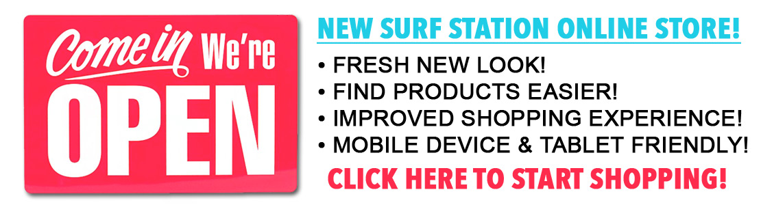 New Surf Station Online Store
