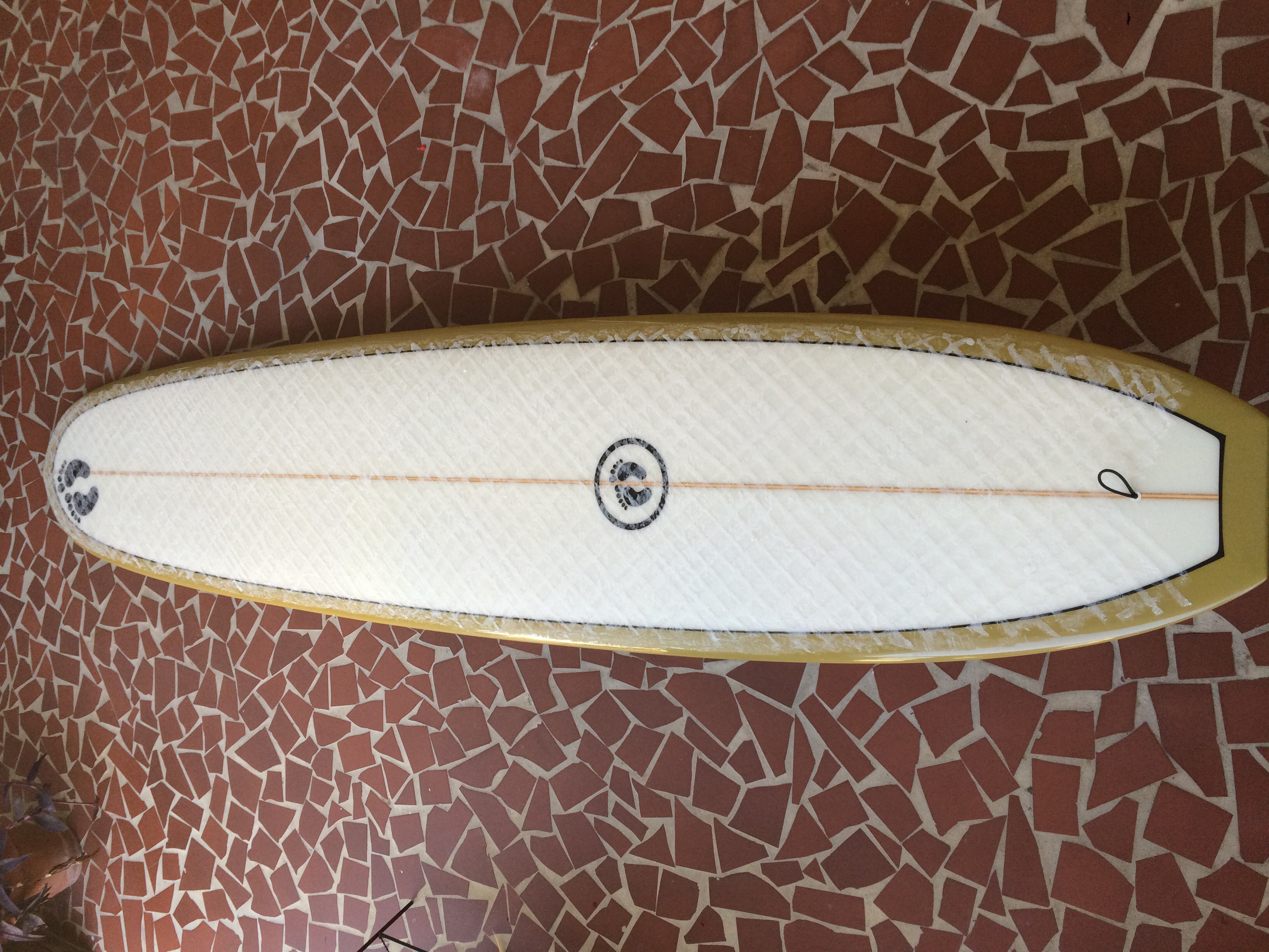 9 4 Single Fin Hang Ten Noserider