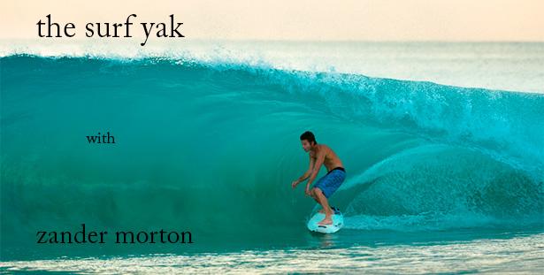 Surfer zander