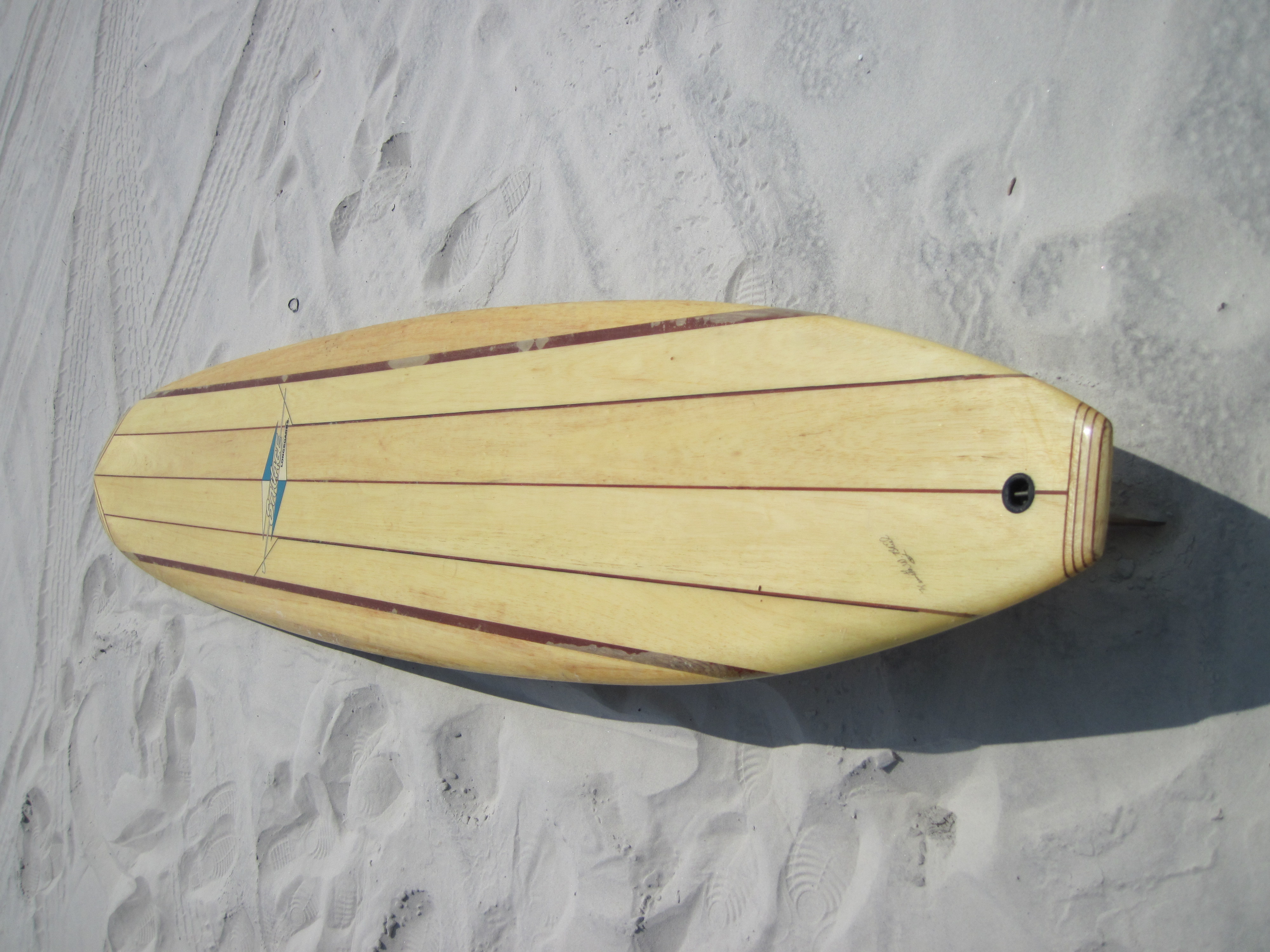 Balsa Wood Longboard- Surf Station Surf Report