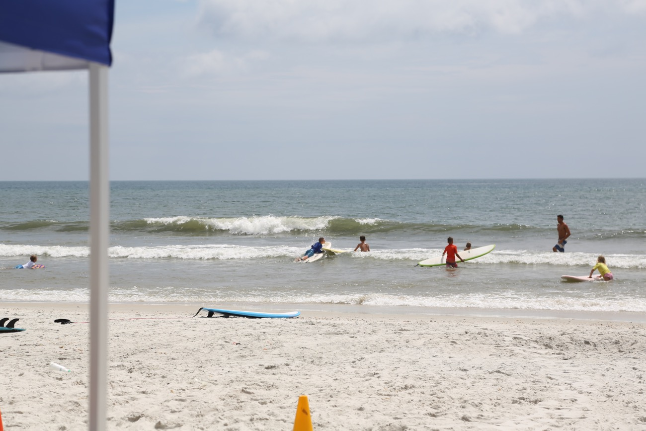 Tuesday Afternoon @ St. Augustine Beach ( + an evening note below)