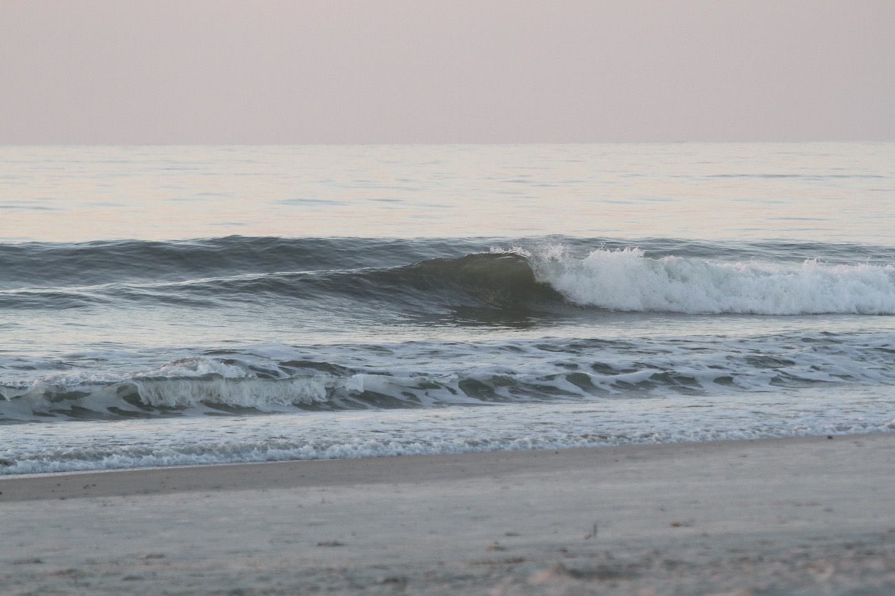 Friday early morning @ St. Augustine Beach