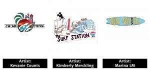 Surf Station Tees